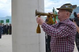 La tromba del centenario che suonò a Rovereto (Foto: C.Perer)