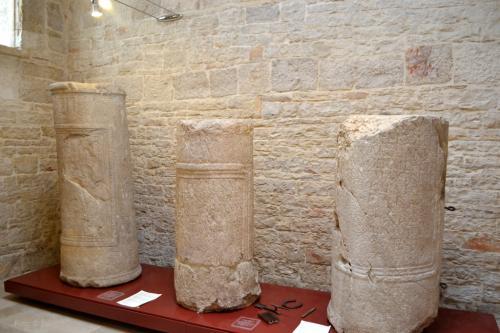 I miliari della Via Traiana conservati al Museo di Corato