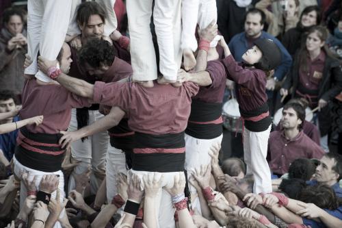 Catalogna, i castellers di Barcellona - Marco Ansaloni, 2018