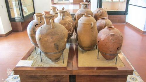 Reperti del Museo Pithecusae