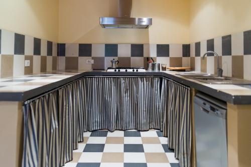 la cucinetta della Suite Studio Conte Antonio