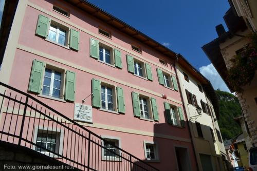 La casa natale di Alcide De Gasperi a Pieve Tesino (Foto: @giornalesentire)