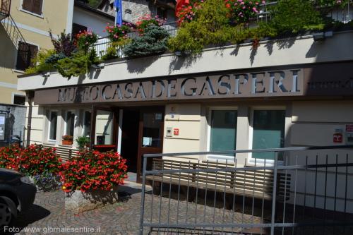 La casa-museo De Gasperi a Pieve Tesino (Foto: @giornalesentire)