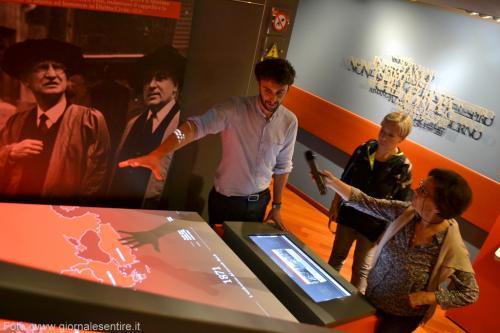 Le installazioni interattive (Foto: @giornalesentire)