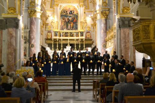 Il concerto del Coro Musicanova di Roma  nella cattedrale di Matera