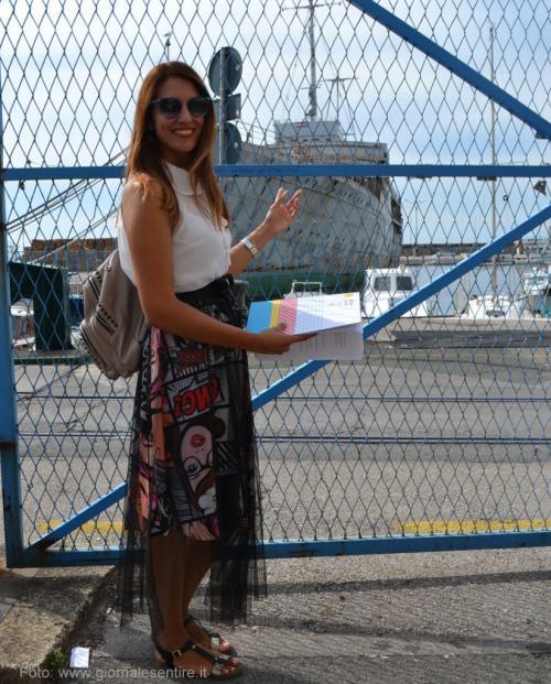 ''Ne faremo un museo'' spiega Andrea Blazevic che cura la comunicazione di Rijeka20/20 - foto C.Perer