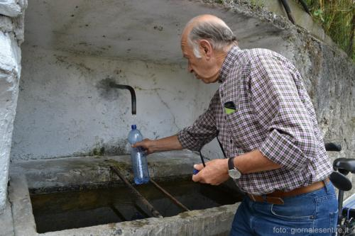 L'acqua che sgorga dalle fontane è buonissima ! (foto: giornalesentire.it)