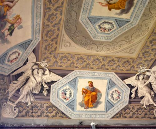 splendidi soffitti affrescati -  foto: giornalesentire.it