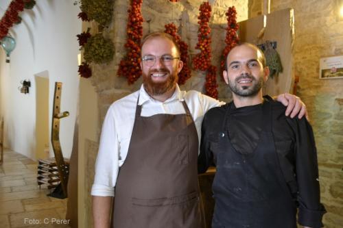 I fratelli Francesco e Vincenzo Montaruli (foto: C.Perer)