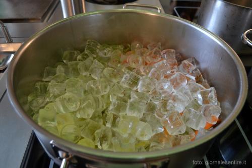 Il brodo ottenuto dal ghiaccio: più limpido, più buono -  foto: giornalesentire.it