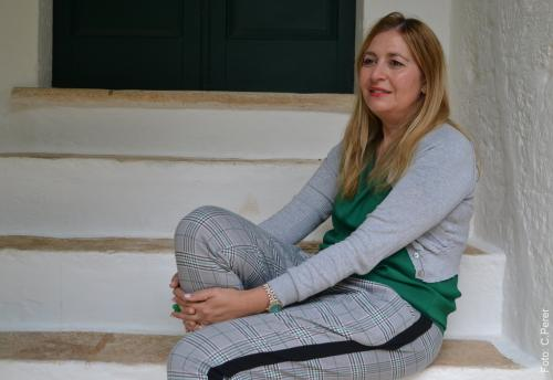 Anna Giammetta, giornalista ''La città sta vivendo un momento magico'' (foto C.Perer)