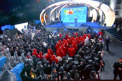 L'emozionante cerimonia inaugurale per Matera2019