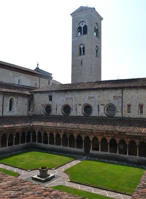 il Chiostro del Convento dove visse in santità Fra Giacomo (fotoservizio: www.giornalesentire.it)