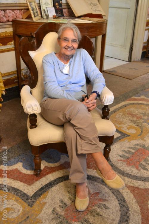 Rosa Maria Faenza Jatta, moglie di Luigi Jatta, (Foto: C.Perer)
