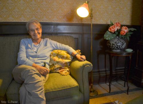 Rosa Maria Faenza Jatta è la memoria di famiglia (Foto: C.Perer)