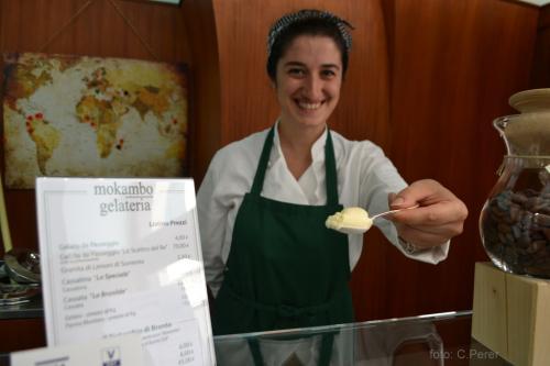 Alla Gelateria Mokambo gelati di altissima qualità - foto C.Perer