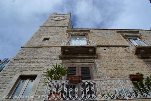 La torre dell'Orologio a Ruvo: dalla cima una vista a 360° dall'Adriatco fino a Castel del Monte distante soli 20 km