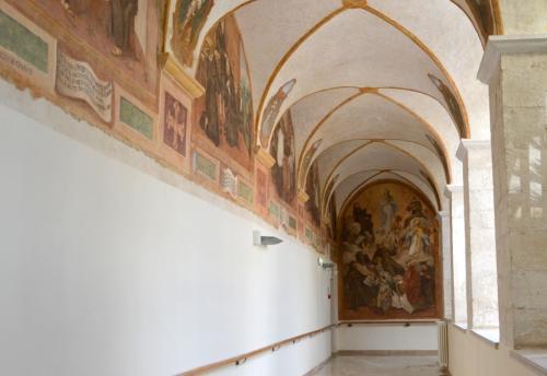 il ciclo di affreschi dedicato a San Francesco