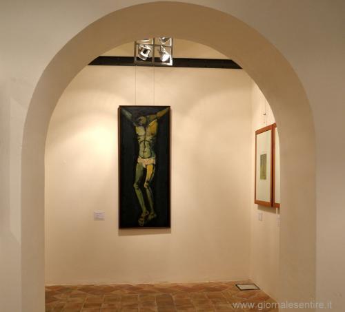 il celebre Crocifisso di Domenico Cantatore - foto C.Perer