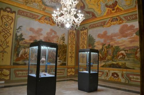 I sontuosi interni del Palazzo Ducale di Martina Franca  (Foto C.Perer)