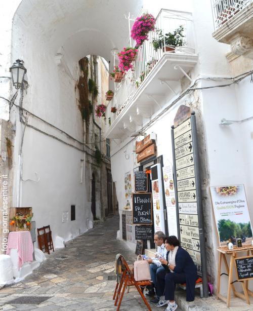 il centro storico di Ostuni  (foto C.Perer)