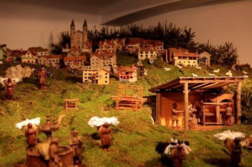 Il Presepe di Teno, realizzato in 30 anni di lavoro da Gaudenzio Straulino