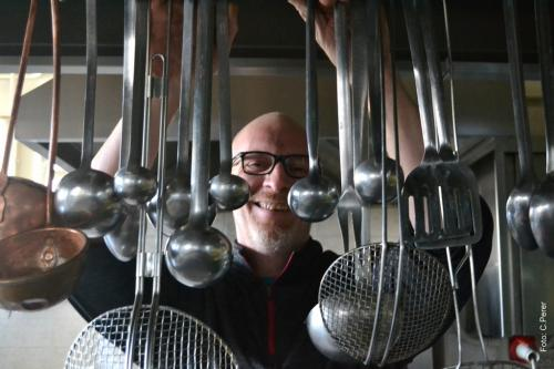 Luca Plet, chef del Ristorante Al Ponte, a Gradisca d'Isonzo