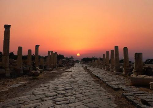 Jerash, l'antica Gerasa, ha più di 6500 anni