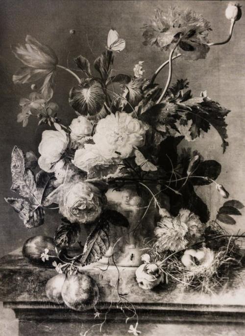 Il dipinto in questione è un capolavoro di Jan van Huysum