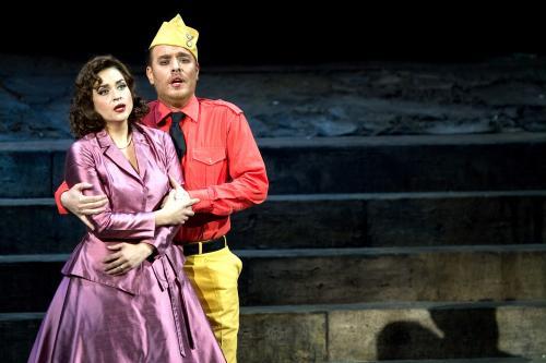 In scena con il marito il tenore Francesco Meli