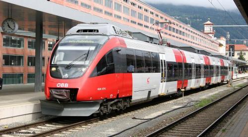 Stazione di Innsbruck meta che si può suggerire per un week-end (foto giornale SENTIRE)