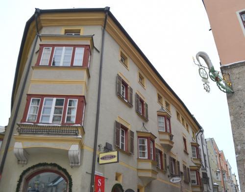 Hall in Tirol ha un centro storico più grande di Innsbruck