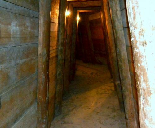 La miniera di sale: ricostruzione visitabiie dai turisti (foto www.giornalesentire.it)