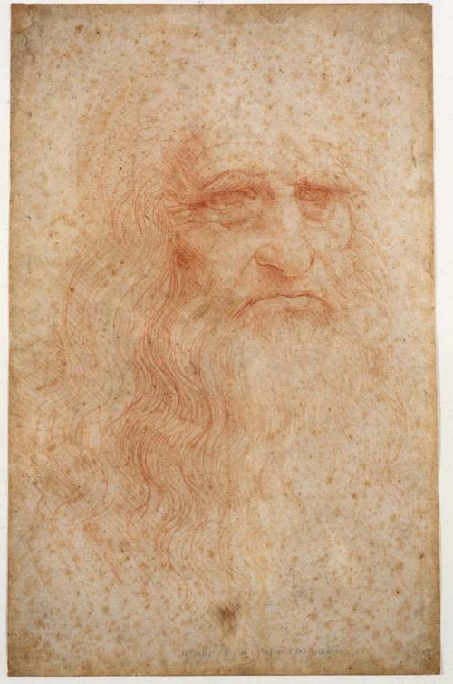 Leonardo da Vinci, Autoritratto, 1490 o 1515-1516 ?