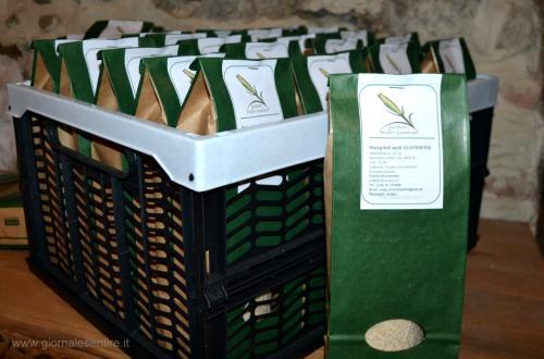 Il Gaitaler Weisser Landmais è un marchio registrato e protetto. Indica una tipicità della Valle del Gail, in Carinzia