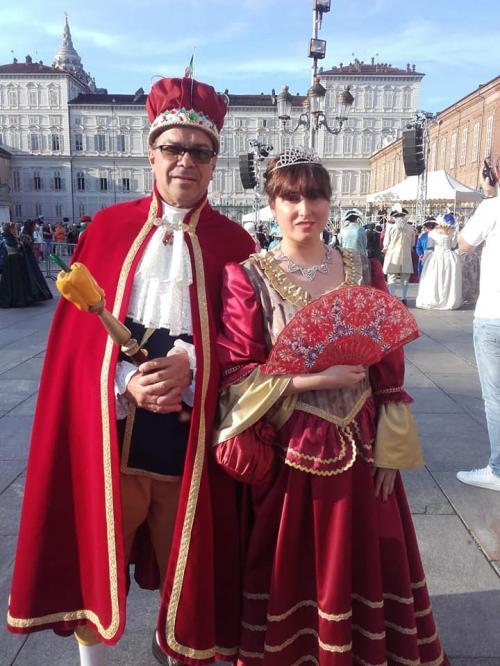 Il re Peperone si insedia a Carmagnola con la Bela Povronera