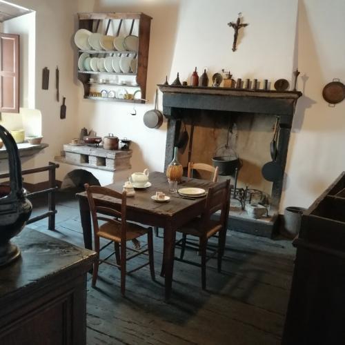 L'antica cucina di casa Puccini - fotoservizio: corona perer