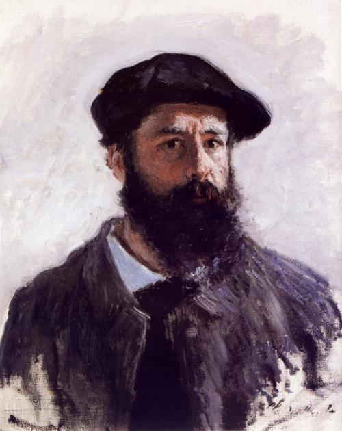 Claude Monet, Self-Portrait (1886) collezione privata