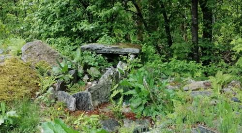 La tomba di un antico guerriero vichingo ritrovata a Bergen (Foto. C.Perer)