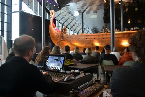 Il concerto inaugurale con Einar Selvik (foto: C.Perer)