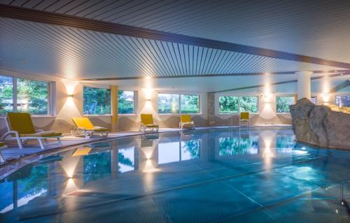 La piscina dell'Hotel Sonnalp