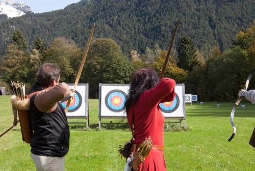 All'Hotel Sonnalp di Maurach  anche un campo per praticare tiro con l'arco