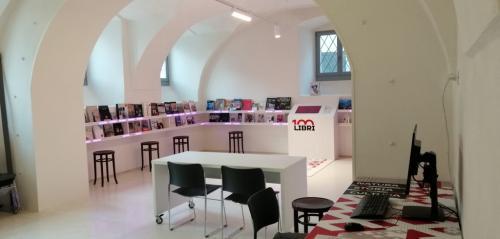 La sala 100 libri - fotoservizio: C.Perer