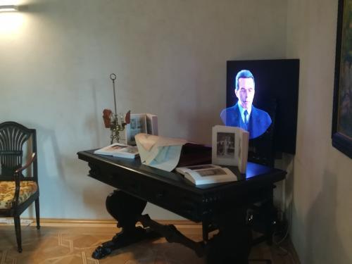 La sala dedicata a Riccardo Zandonai compositore - fotoservizio: C.Perer
