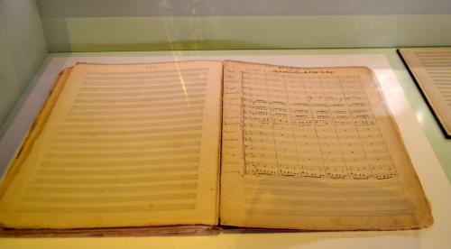 Museo Puccini, spartiti autografi  (foto www.giornalesentire.it)