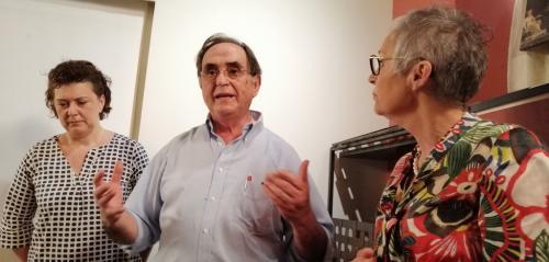 Giuseppe Bulleri proprietario della casa-museo afferma ''I reperti sono in 48 casse ma presto torneranno nel luogo dove sono stati rinvenuti''