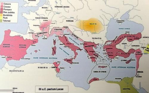 Lucca, Cità della Gallia Cisalpina. Da qui partì il MIles che divenne primo cittadino di Strasburgo
