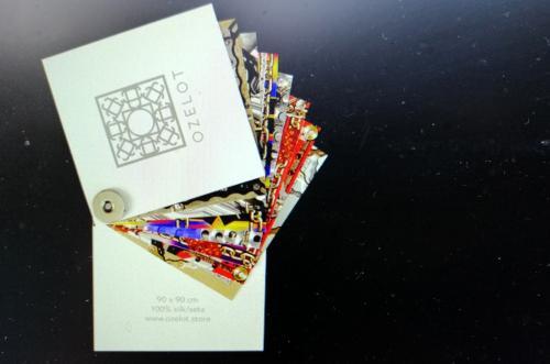 Ozelot nasce dalla passione per i colori, la grafica e le cose belle