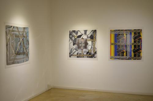 I foulard di Ozelot alla Galleria Studio 53 Arte  di Rovereto