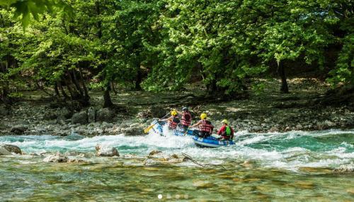 Epiro, paradiso per il rafting